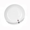 Assiette calotte 22,5 cm Hémérocalle