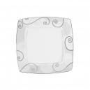 Assiette plate 21 cm Lavande en porcelaine