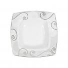 Assiette creuse 21,5 cm Lavande en porcelaine