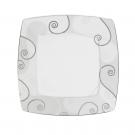 Assiette plate 25,7 cm Lavande en porcelaine