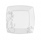 Assiette plate 25,7 cm Camélia en porcelaine