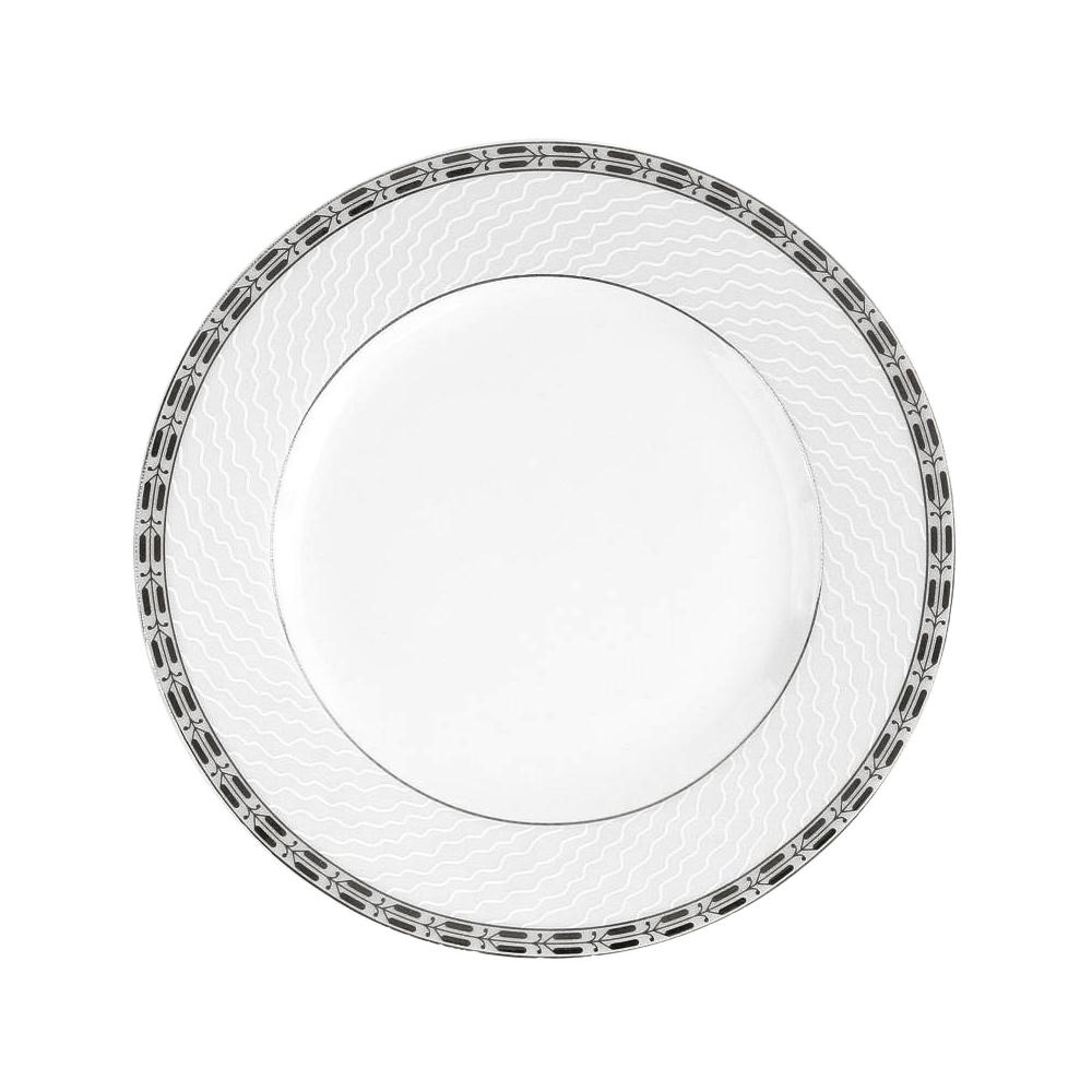 assiette plate porcelaine 24 cm