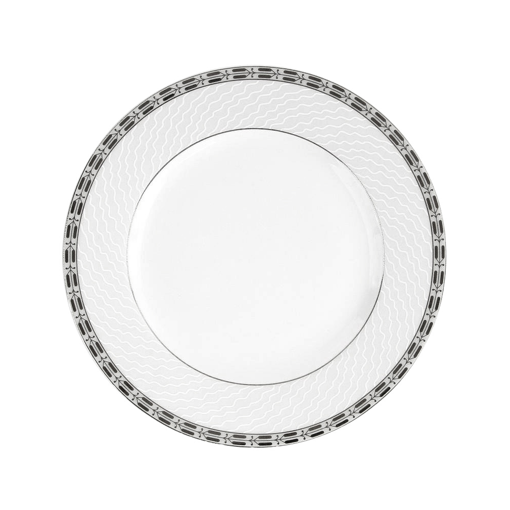 tasse assiette assiette plate aile 24 5 cm vague. Black Bedroom Furniture Sets. Home Design Ideas