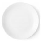 Assiette plate 24 cm Clématite en porcelaine