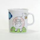 Mug 0,22 l Jonquille en porcelaine