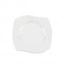 Assiette plate 21 cm Cytise en porcelaine