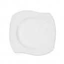 Assiette plate 25 cm Bergenia en porcelaine