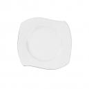 Assiette plate 21 cm Bergenia en porcelaine