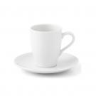 Tasse à café 0,1 l avec soucoupe Muscari en porcelaine