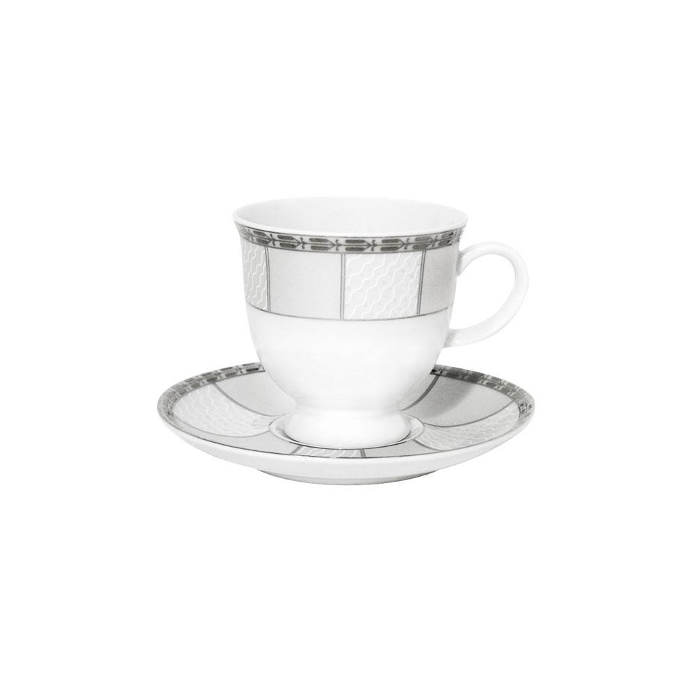 tasse assiette tasse caf 100 ml avec soucoupe 13 cm vague mousseuse en porcelaine. Black Bedroom Furniture Sets. Home Design Ideas