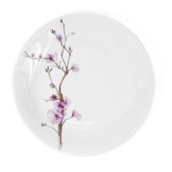 Assiette plate ronde 26 cm Le Sacre du Printemps en porcelaine
