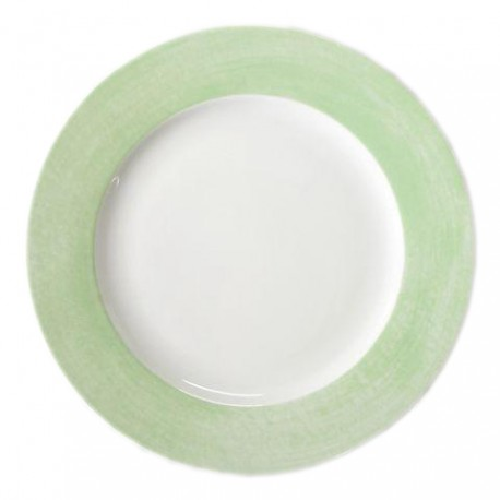 Assiette plate 27 cm Pavot en porcelaine