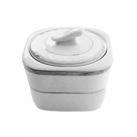 Sucrier 300 ml Astrance en porcelaine, service à café en porcelaine complet