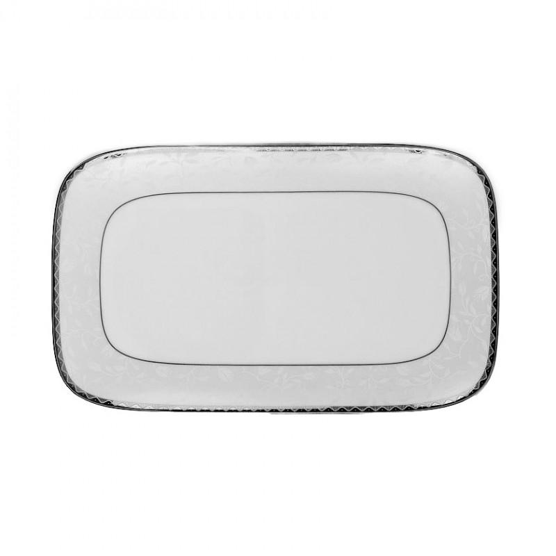 tasse assiette plat rectangulaire 30 5 cm en porcelaine. Black Bedroom Furniture Sets. Home Design Ideas
