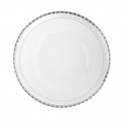 Saladier rond 26 cm Danse de l'écume en porcelaine