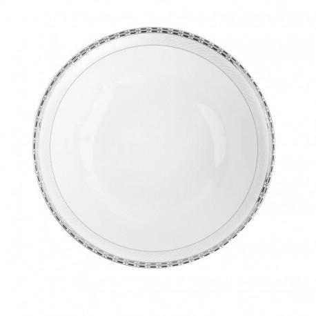 Saladier rond 26 cm danse de l'ecume en porcelaine