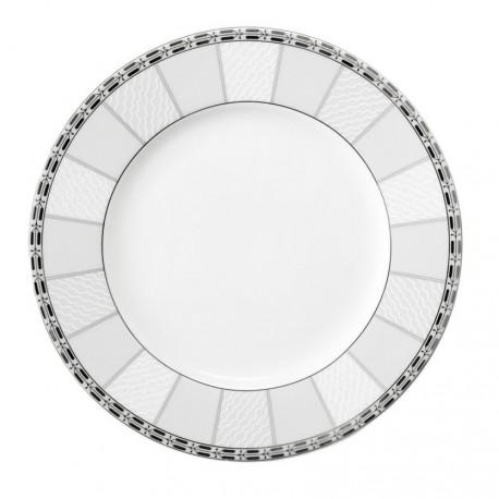 Assiette plate à aile 20 cm danse de l'ecume en porcelaine