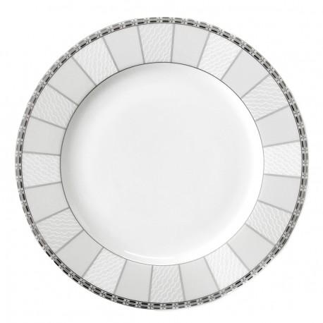 Assiette plate à aile 27 cm Danse de l'écume en porcelaine
