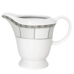 Crémier 300 ml Vague de neige en porcelaine