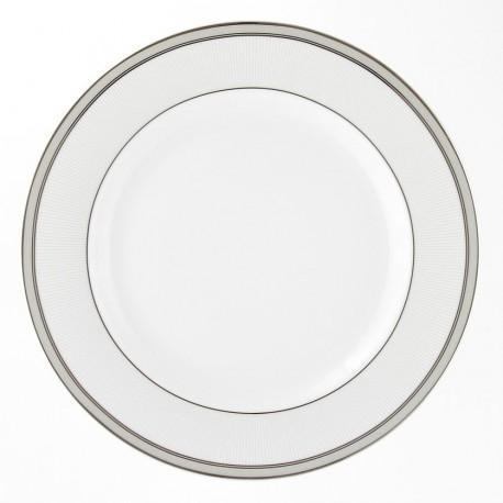 service de vaisselle complet en porcelaine, Assiette plate ronde à aile 27 cm Arum en porcelaine