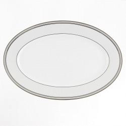 art de la table, service complet en porcelaine, Plat ovale 36 cm porcelaine