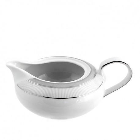 saucière en porcelaine, vaisselle complète, art de la table
