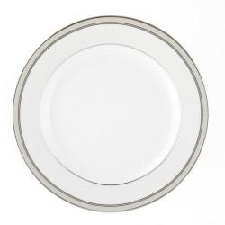service de vaisselle complet en porcelaine, Assiette plate ronde à aile 21 cm en porcelaine