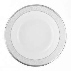 Saladier rond 23 cm Jardin Secret en porcelaine