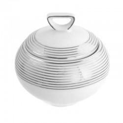Sucrier 250 ml Savonnier en porcelaine