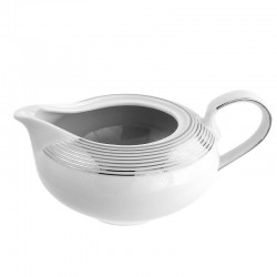 Saucière 550 ml Esquisse Exquise en porcelaine