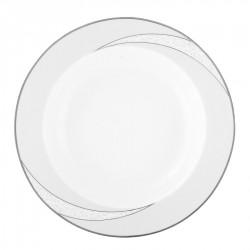Assiette creuse à aile 22 cm Lupin en porcelaine