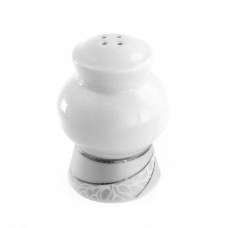 Salière Lupin en porcelaine