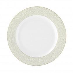 Assiette plate à aile 21 cm en porcelaine, service complet pour tous les jours
