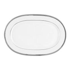 Plat ovale 33 cm Histoire d'oeuf en porcelaine