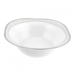 Saladier carré 26 cm Oxalis en porcelaine
