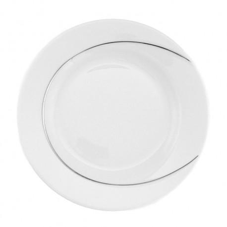 Assiette plate ronde 20.5 cm en porcelaine, art de la table et assiette, service complet
