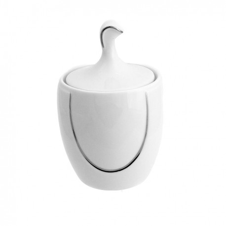 Sucrier 250 ml Sedum en porcelaine, service à café, service à thé en porcelaine