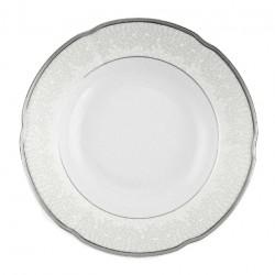 Assiette ronde creuse en porcelaine – 22,5 cm - Idylle dans le verger
