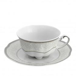 Tasse à thé 220 ml avec sa soucoupe - Idylle dans l'olivaie