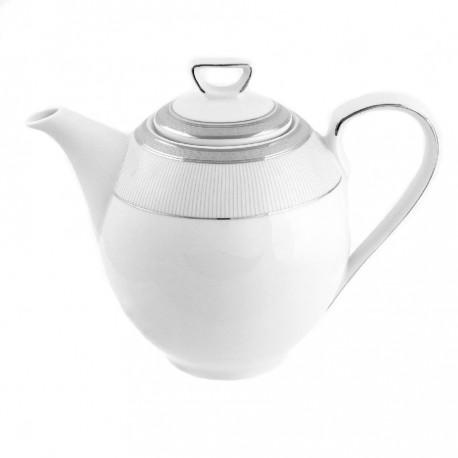 Théiere 1300 ml avec couvercle porcelaine, service complet en porcelaine