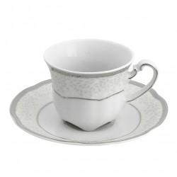 Tasse à café 100 ml avec sa soucoupe - Idylle dans l'olivaie