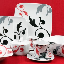 Service de table 36 pcs HELIANTHEME en porcelaine