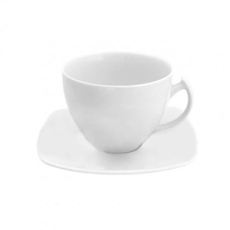 service à café en porcelaine complet, Tasse à café 90 ml avec soucoupe