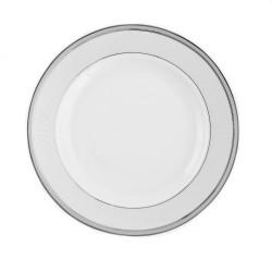 Plat creux rond à aile 29 cm Plaisir Enchanté en porcelaine