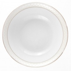 Saladier 26 cm L'or du Temps en porcelaine