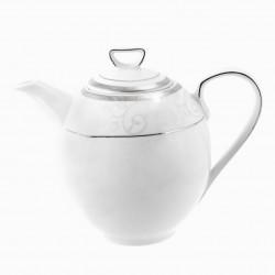 Cafétière 1300 ml avec couvercle Jardin Secret en porcelaine