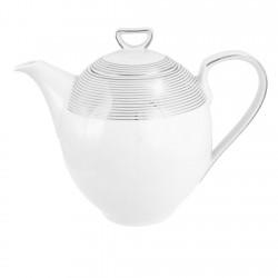 Cafetière 1300 ml avec couvercle Esquisse Exquise en porcelaine