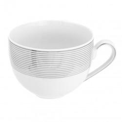 Tasse petit déjeuner 450 ml Esquisse Exquise en porcelaine
