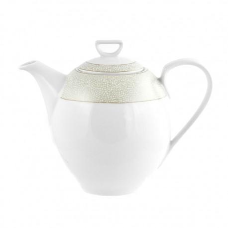 Cafetière 1300 ml avec couvercle Corète du Japon en porcelaine