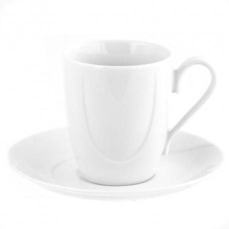 Tasse à café/thé 230 ml avec soucoupe en porcelaine Catalpa